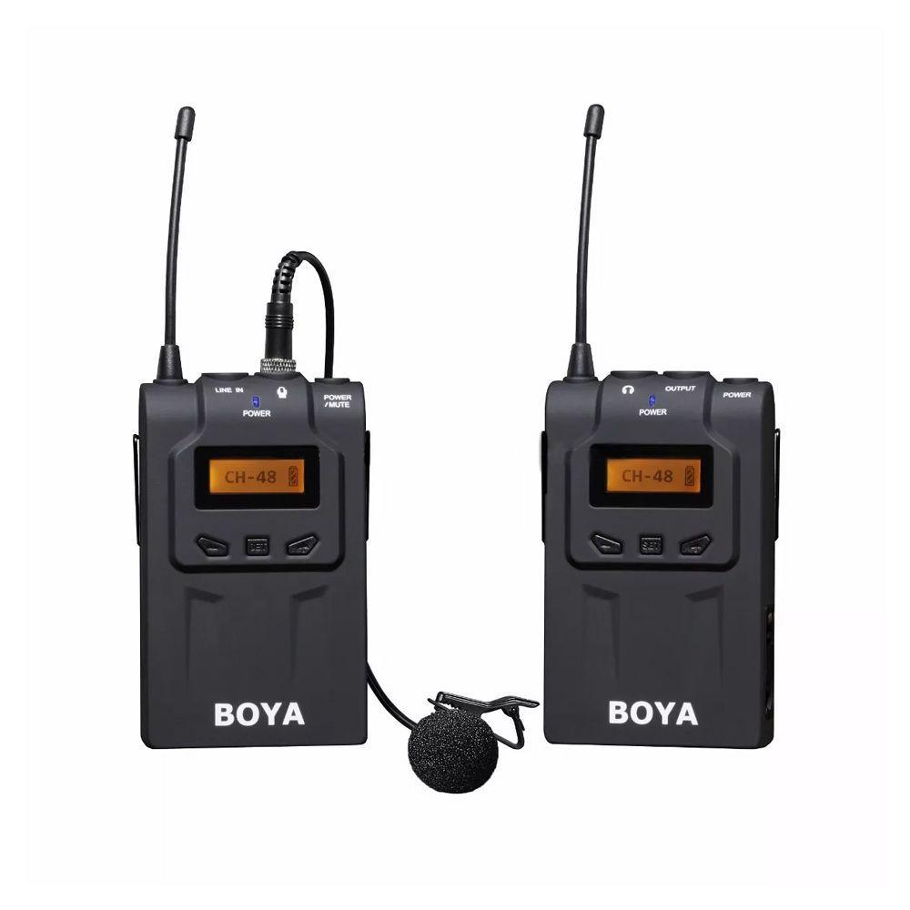 Microfone de Lapela Boya BY-WM8 K1 um transmissor+ um receptor