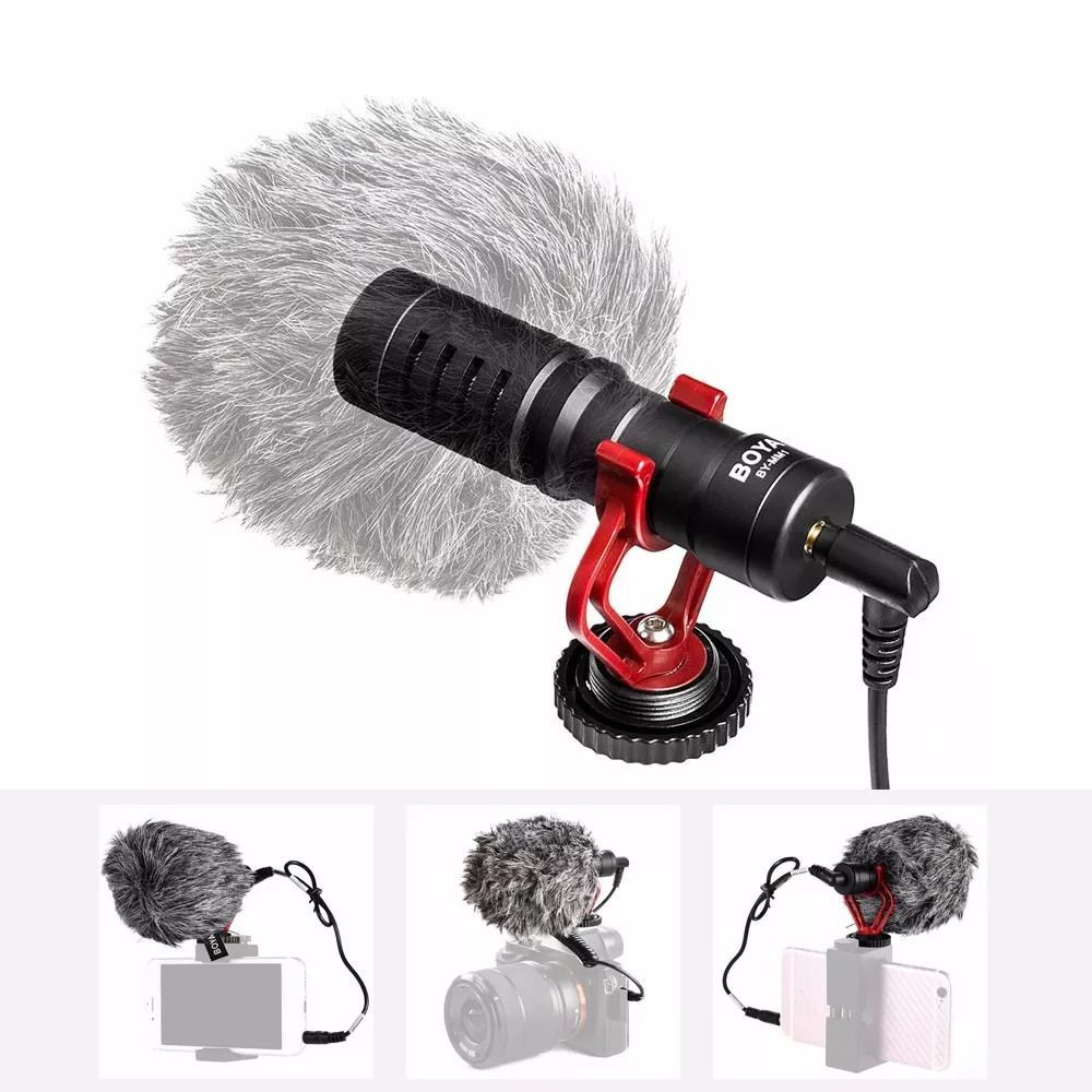 Microfone Direcional Boya BY-MM1