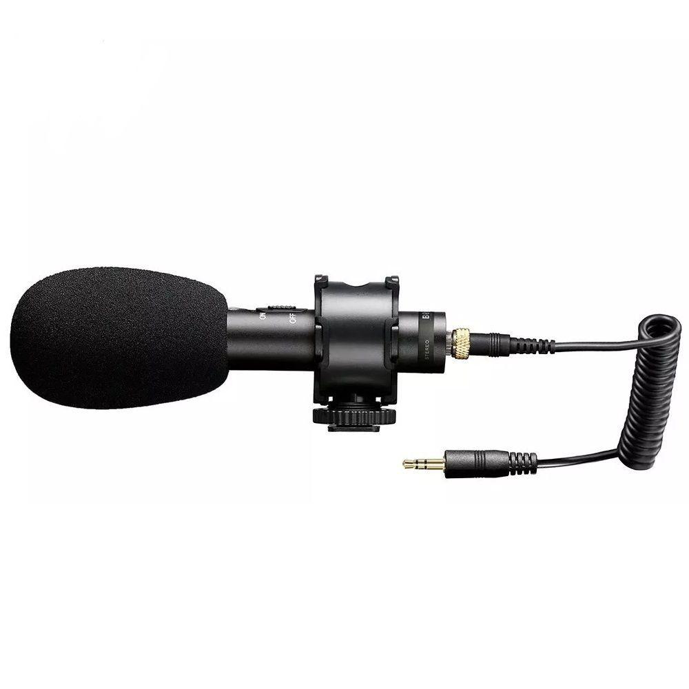 Microfone Direcional Shotgun Boya BY-PVM50