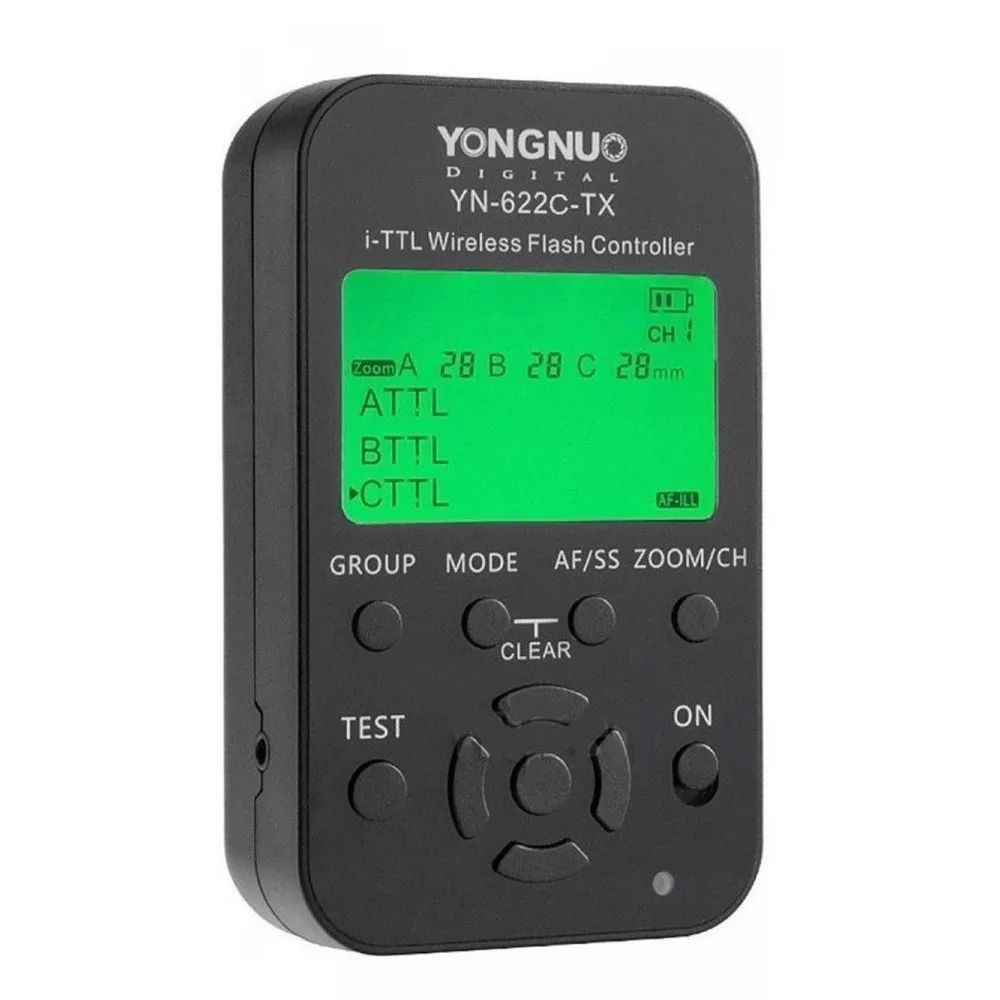 Radio Flash YN622C-KIT TX para CANON Yongnuo