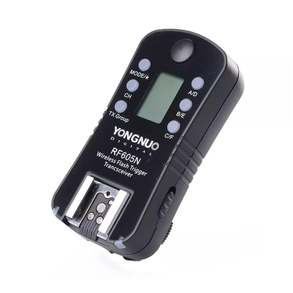 Radio Flash Yn Rf 605 Nikon Yongnuo