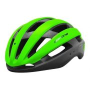 CAPACETE CICLIMSO MTB SPEED HIGH ONE WIND AERO C/ LED - VERDE/ PRETO