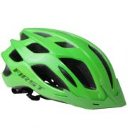 CAPACETE CICLISMO FIRST FLUIG LED C/ VISEIRA - VERDE