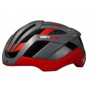 CAPACETE CICLISMO HIGH ONE MTB PRO-SPACE - CINZA/VERMELHO