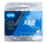 CORRENTE KMC 12V X12 126 ELOS - PRATA