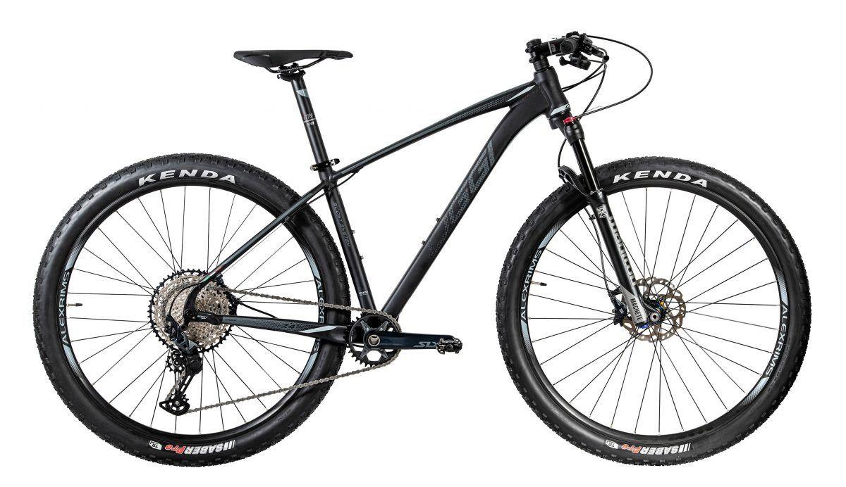 BICICLETA MTB ARO 29 OGGI BIG WHEEL 7.4 SLX 12V 2020 - PRETO/LARANJA/GRAFITE