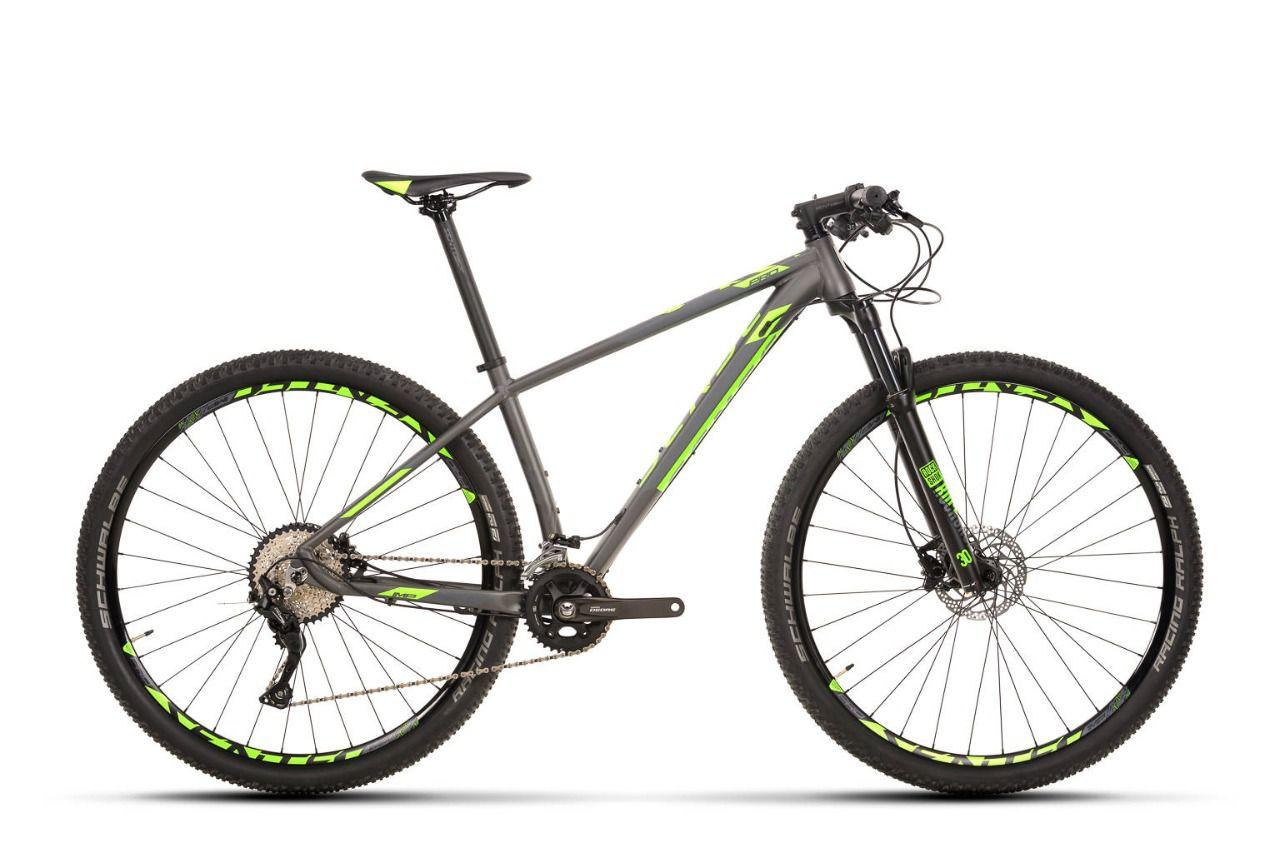 BICICLETA MTB ARO 29 SENSE IMPACT PRO DEORE 2020 - VERDE/PTO