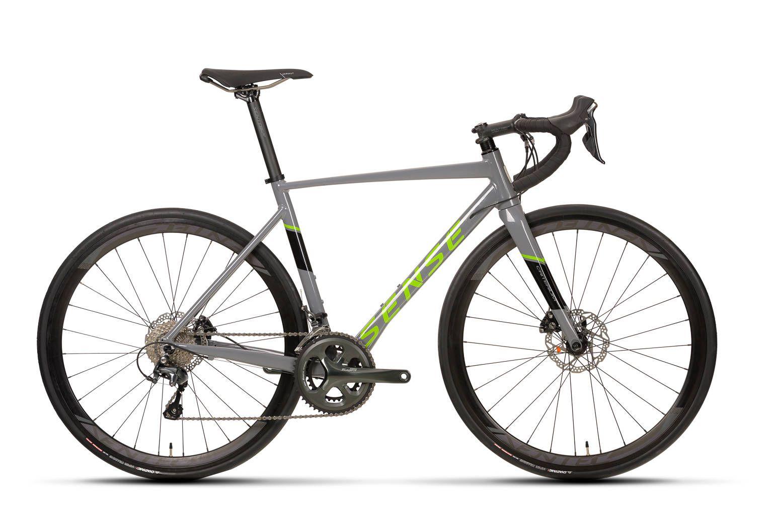 BICICLETA SPEED 700C SENSE CRITERIUM RACE 2020 - VERDE/CZA