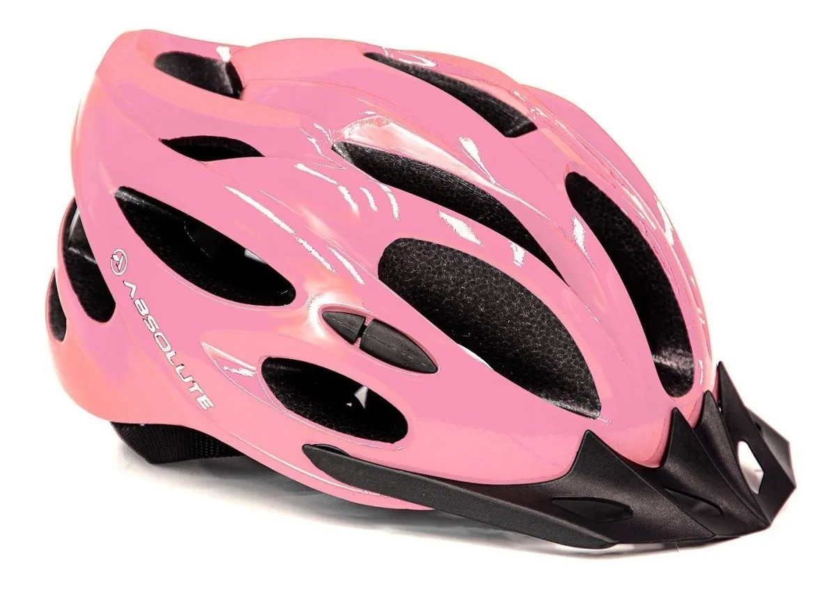 CAPACETE CICLISMO MTB SPEED ABSOLUTE NERO - LILAS