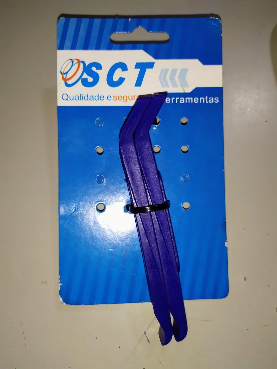 ESPATULA NYLON SCT DE  P/TROCAR PNEU BICICLETA - 2 UNIDADES