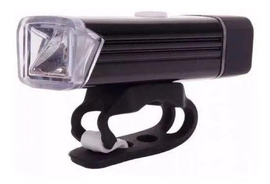 FAROL DIANTEIRO MACHFALLY MC-QD001 USB 180 LUMENS - PRETO