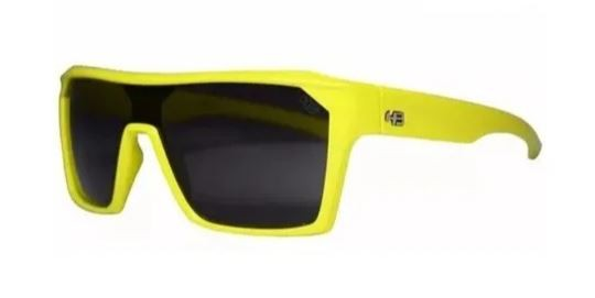 OCULOS CICLISMO HB CARVIN 2.0 - NEON YELLOW GRAY