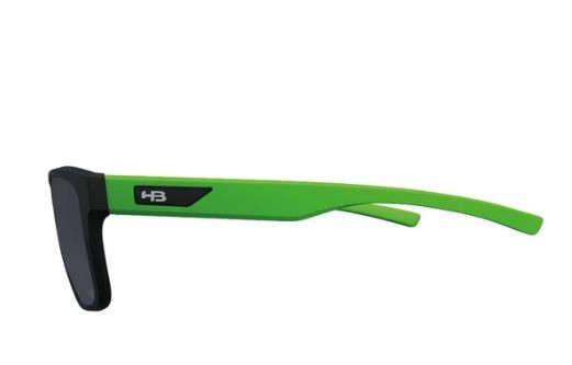 OCULOS DE SOL HB H-BOMB TEEN - BLACK/LUCKY GREEN/ GRAY