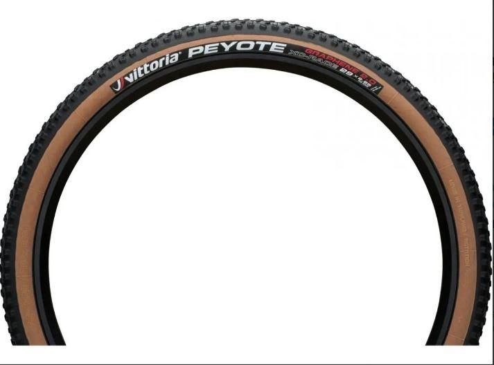 PNEU MTB VITTORIA PEYOTE - XC-RACE ARO 29 x 2.25 - PRETO/MARROM