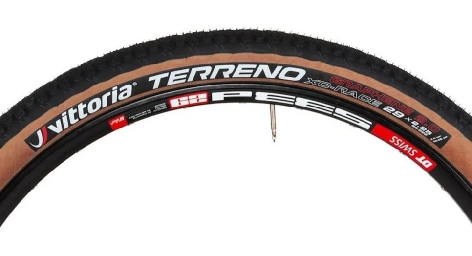 PNEU MTB VITTORIA TERRENO XC-RACE  29 X 2.25 - MARROM/PRETO