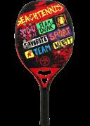Raquete de Beach Tennis Turquoise Concept - Red