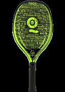Raquete de Beach Tennis Turquoise Black Death 10.2 - Acid Green