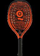 Raquete de Beach Tennis Turquoise Black Death 10.2 -  Orange