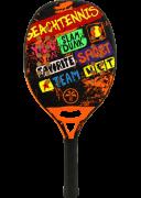 Raquete de Beach Tennis Turquoise Concept - Orange