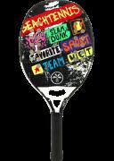 Raquete de Beach Tennis Turquoise Concept - White