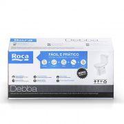 Kit Debba - Bacia com Caixa Acoplada e Itens de Instalação branco