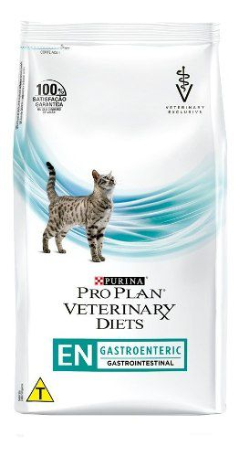 Raçao Nestle Purina Proplan Veterinary Diets Gastroenteric Sabor Frango Para Gatos 1.5 Kg