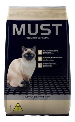Must Gatos Castrados Premium 10.1 Kg