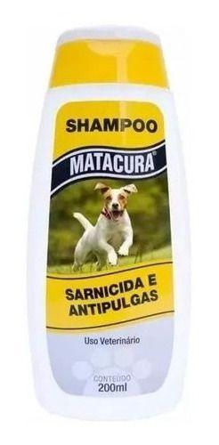 Shampoo Matacura Sarnicida E Antipulgas 200 Ml