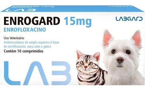 Enrogard 15 Mg 10 Comprimidos