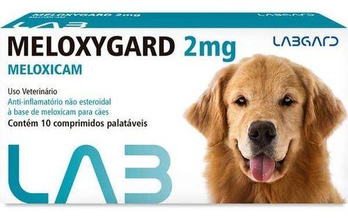Meloxygard Labgard 2.0Mg Para Cães Com 10 Comprimidos