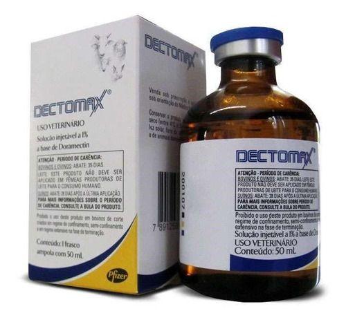 Dectomax 50Ml - Doramectina 1% - Zoetis Injetável