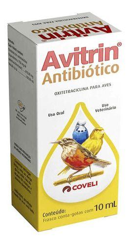 Avitrin Antibiótico 10Ml - Coveli