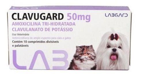 Clavugard 50Mg C/10 Comp