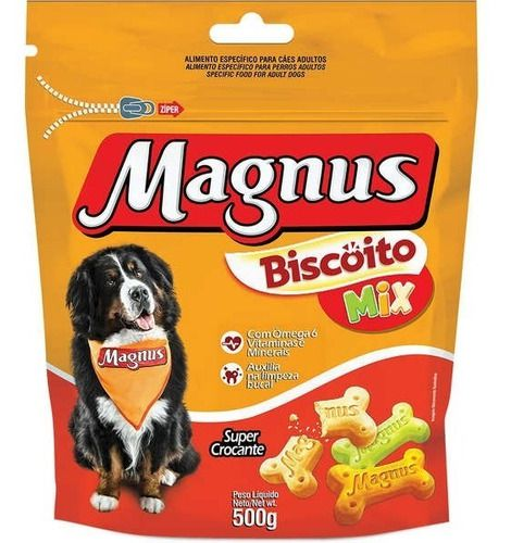 Magnus Croc Mix Para Cães - 500 G