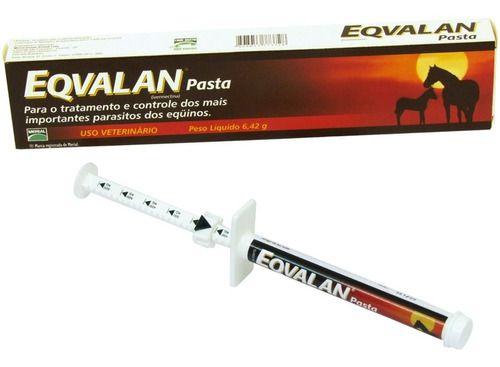 Eqvalan Pasta - 6,42 Gr | Vermífugo Para Equinos
