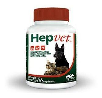 Hepvet 30 Comprimidos - Vetnil