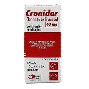 Cronidor 40Mg - 10 Comprimidos