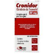 Cronidor 80Mg - 10 Comprimidos