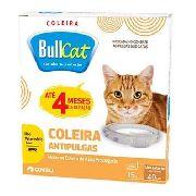 Coleira Antipulgas Para Gato Bullcat 15 G