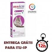 Antipulgas Bravecto Transdermal Gato 6,25 - 12,5Kg
