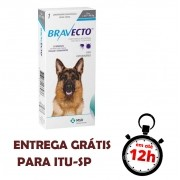 Antipulgas E Carrapatos Bravecto Msd Para Cães De 20 A 40 Kg