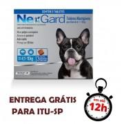 Antipulgas E Carrapatos Nexgard 28.3 Mg Para Cães De 4.1 A 10 Kg - 03 Unidades