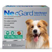 Antipulgas E Carrapatos Nexgard 68 Mg Para Cães De10.1 A 25 Kg - 01 Unidade