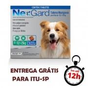 Antipulgas E Carrapatos Nexgard 68 Mg Para Cães De10.1 A 25 Kg - 03 Unidades