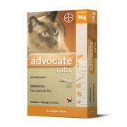 Combo Advocate Gatos 1 a 4 kg(2 uni) + 4 a 8 kg (1 Uni)