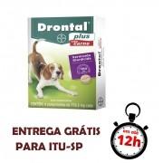 Drontal Plus Cães 10 Kg (Carne)
