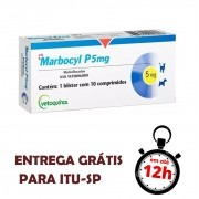Marbocyl P 5Mg Para Cães 10 Comprimidos
