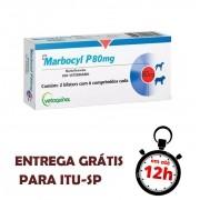 Marbocyl P 80Mg Para Cães 10 Comprimidos