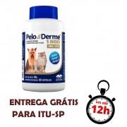 Pelo E Derme Para Cães E Gatos 1500 Mg 60 Cápsulas