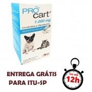 Pro Cart 1000 Mg Suplemento Para Cães E Gatos